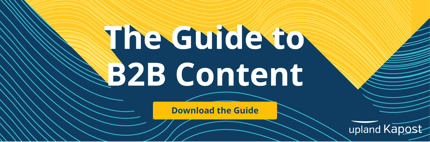Guide to B2B Content