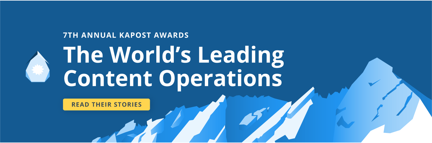Leading Content Operations