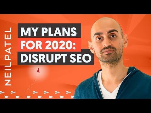 Why I Decided To Disrupt the SEO Industry | My Marketing Plans for 2020